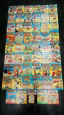 53 x BEANO LIBRARY COMICS FROM No 1 - 58 - VINTAGE - 1980's