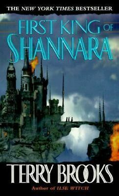 NEW First King of Shannara By Terry Brooks Paperback Free Shipping