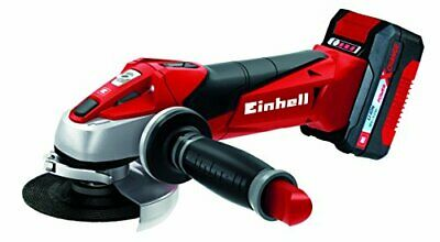 Einhell Expert Amoladora TE-AG 18/115 Li Kit Power X-Change, Li-Ion, 18 V, incl