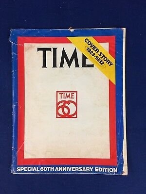 Vintage Time Magazine Special 60th Anniversary Cover Story 1923-1982 Coll