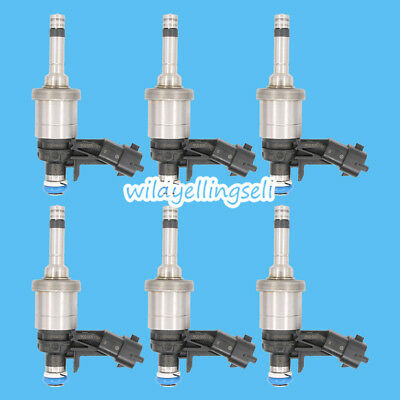 6xOEM Fuel Injector for GM Chevrolet Camaro Traverse GMC Acadia CTS 3.6 12638530