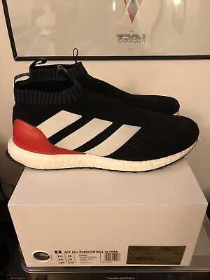 12fe96c84f8c Adidas Ace 16+ pure control ultraboost BY9087 PREDATOR BLACK Red Limit 10.5