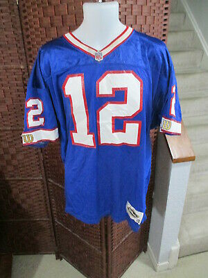 30981b0a Vintage Authentic Wilson Jim Kelly Buffalo Bills Jersey Size 52 NFL Football