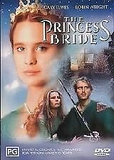 The Princess Bride (DVD)  Cary Elwes - Region 4 - New and Sealed