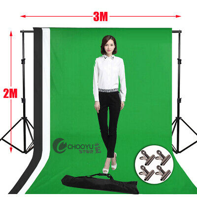 2x3M Photography Studio Non-woven Background Concise style Screen Backdrop BWG