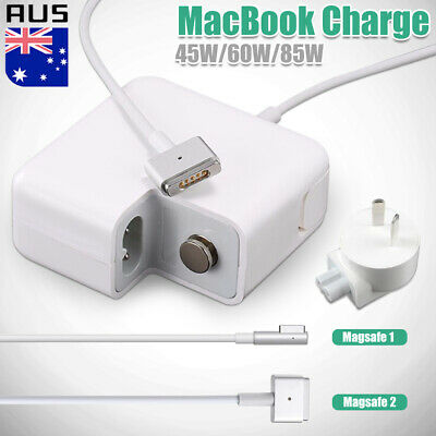 """45-85W T/L ADAPTER For APPLE MACBOOK AIR Pro MagSafe1/2 Power Charger 13 15 17"""""""