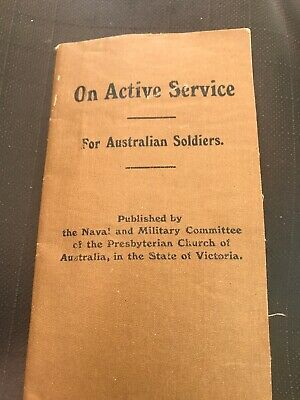 On Active Service - Army Publication