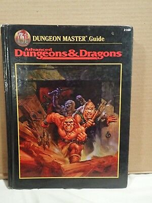 Advanced Dungeons & Dragons Dungeon Master's Guide DMG 2ED TSR 2160 Revised vers