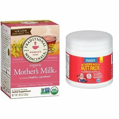 Traditional Medicinals Organic Mother's Milk Tea, 16 Tea Bags (Pack of 6) Boudr