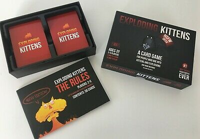 Play with up to 10 Players Exploding Kittens Party Pack EKG-PP-1