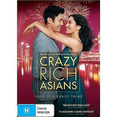 Crazy Rich Asians DVD 2018 M / Free Priority Postage - Receive within 3 days!