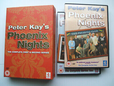 Peter Kays Phoenix Nights Complete First & Second Series Dvd Boxset