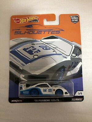 Silhouettes Hot Wheels Car Culture Porsche 935 2019