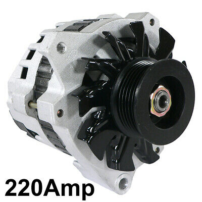 New 12V 220Amp Alternator Fits Buick Roadmaster Commercial Chassis 90'S 10463181