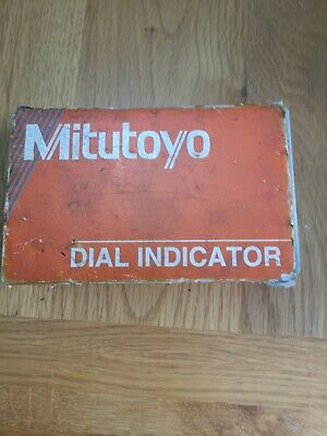 Dial test indicator Mitutoyo, DTI Clock Metric.