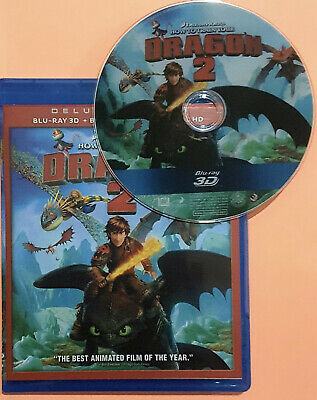 How to Train Your Dragon 2 3D Blu-ray Region Free Best Deal Shipping Now