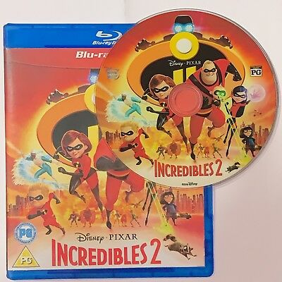 Incredibles 2 3D Blu-ray Region Free Best Deal Shipping Now