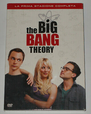 The Big Bang Theory La Prima Stagione Completa In Italiano In 3 Dvd