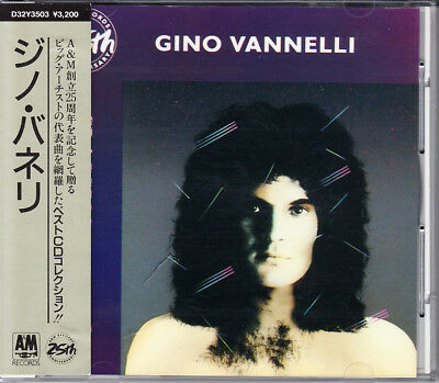cd japan Gino Vannelli Best CD Collection 1987 Japan CD 1st Press With Obi