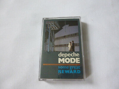 Depeche Mode ~ Some Great Reward ~ '84 Uk Synth Pop Cassette Tape ~ Paper Labels
