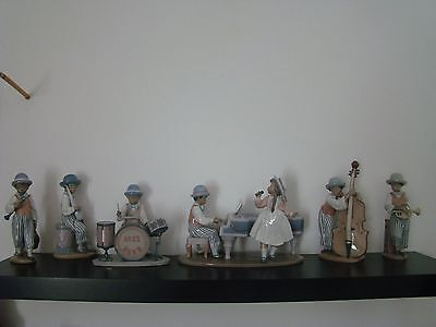 Lladro Figuras Jazz Band