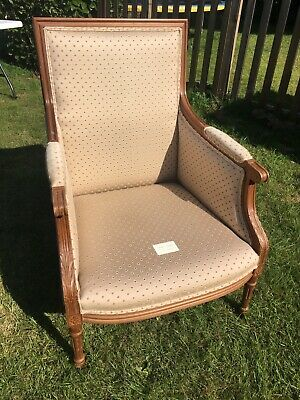 Peter Guild French Antique Style Bergere Armchair