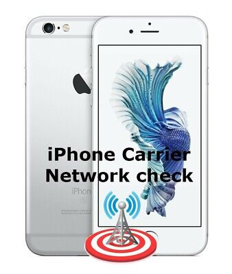 Iphone Any Model Sim Lock Status And Carrier/Network Check Information