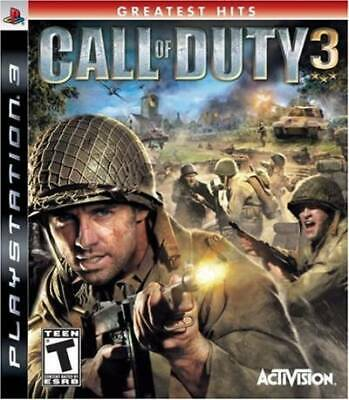 Call of Duty 3 - Playstation 3 by Artist Not Provided