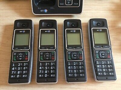 BT6500 Trio 066268 cordless phones with extra handset (x4 handsets)