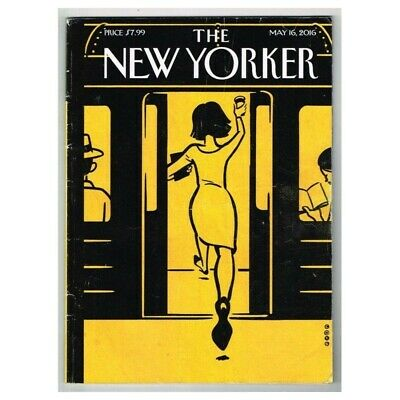 The New Yorker Magazine May 16 2016 MBox3595/I May 16 2016