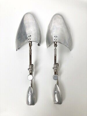 RARE Pair of Vintage Metal Shoe Stretchers Made in England USED