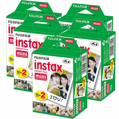 Fujifilm Instax Mini Film - 100 Shot Pack