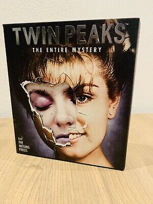 Twin Peaks The Entire Mistery Cartonato - Blu Ray ITA - Bluray FUORI CATALOGO