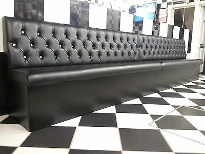 Bench/Booth/Fixed seating *Standard Deep Button Style* Commercial & Domestic