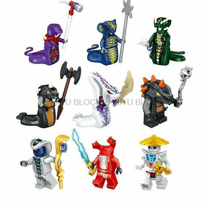 Lego Ninjago Minifigures Ninja Heroes Kai Jay Cole Zane Figure With Weapons New