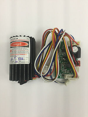 Show Laser CNI Diode with Driver board 532nm 50 mw Green