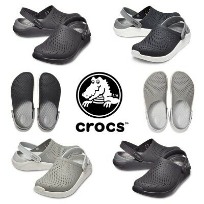 Crocs Unisex LiteRide Relaxed Clogs Slip Ons Womens Shoes Mens Sandals Soft