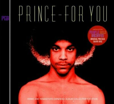 PRINCE FOR YOU Remix And Remasters Expanded Album PRINCE1979 Collector's Edition