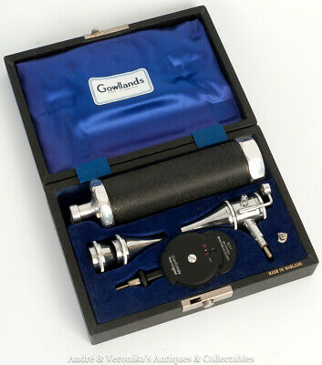 DOCTOR'S GP OTOSCOPE & OPTHALMOSCOPE Gowllands Diagnostic Eye & Ear Equipment