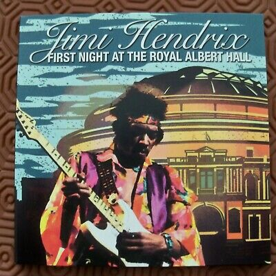 "Jimi Hendrix ""First Night At The Royal Albert Hall"" Double Cd Live London 1969"