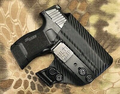 KYDEX IWB HOLSTER : Fits Sig Sauer P365 - Custom Fit-USA MADE-Inside