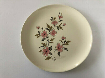 """Taylor Smith Taylor TST Ever Yours WILD QUINCE Pink Floral 10-1/4"""" DINNER PLATE"""