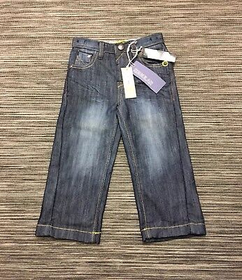 John Rocha Little Rocha Boys Regular Jeans In Blue Size 2-3 Years