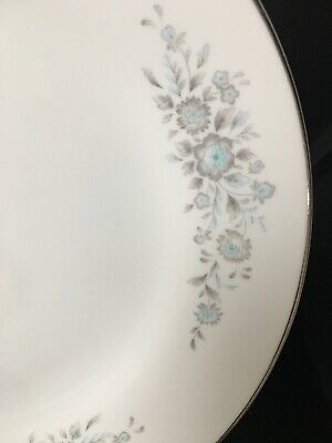 Vintage Porcelain Dishes China Turquoise Gray Winsford 1304 Salad Plate 7""