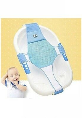 Safety Baby Bath Tub Seat Support Infant Child Toddler Kids Anti Slip BLUE