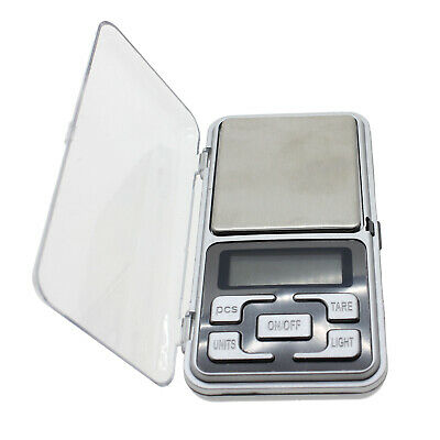 0.1g/500g Gram Gold Silver Jewelry Spice Diet Coin Pocket LCD Digital Scale