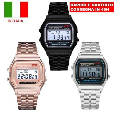 "Orologio uomo donna digitale polso ""SPORTS WATCH"" watch led"