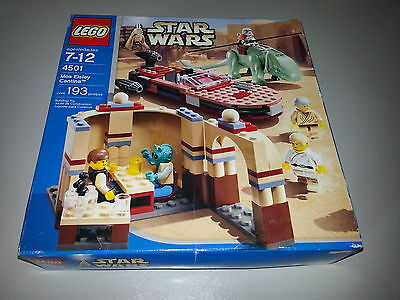 Lego STAR WARS 4501 Mos Eisley Cantina  Mint in unopened box. Neuf en boîte.