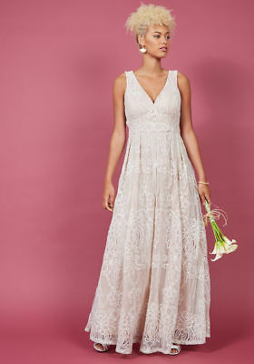 Modcloth Wedding Dress.Liza Luxe Faith In Flawlessness Maxi Dress Modcloth White Wedding Gown L 175