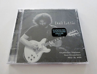 Jerry Garcia Don't Let Go Orpheum SF 5/21/1976 JGB Band 2 CD Grateful Dead New
